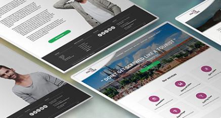 Web pre unikátnu službu v Prahe