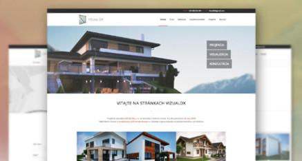 Redesign webstránky pre VizualDK