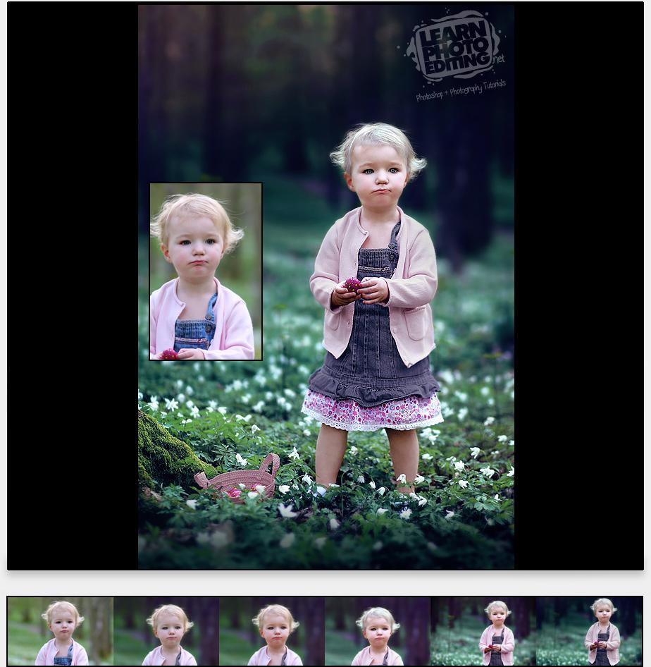 babynew - photoshop návod