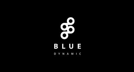 Moderné minimalistické logo BD
