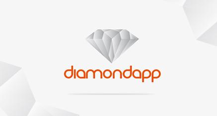 """Moderné logo """"DiamodApp"""""""