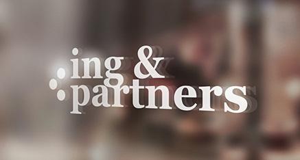 """Vytvorenie loga pre """"Ing & Partners"""""""
