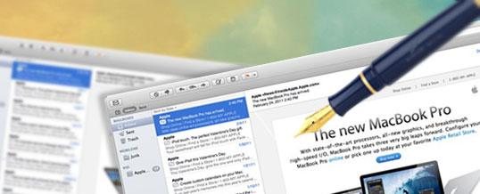 Pridajte si HTML podpis do aplikácie Mail (mac)