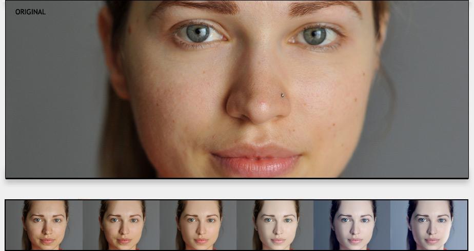portrét ženy 2 - photoshop návod
