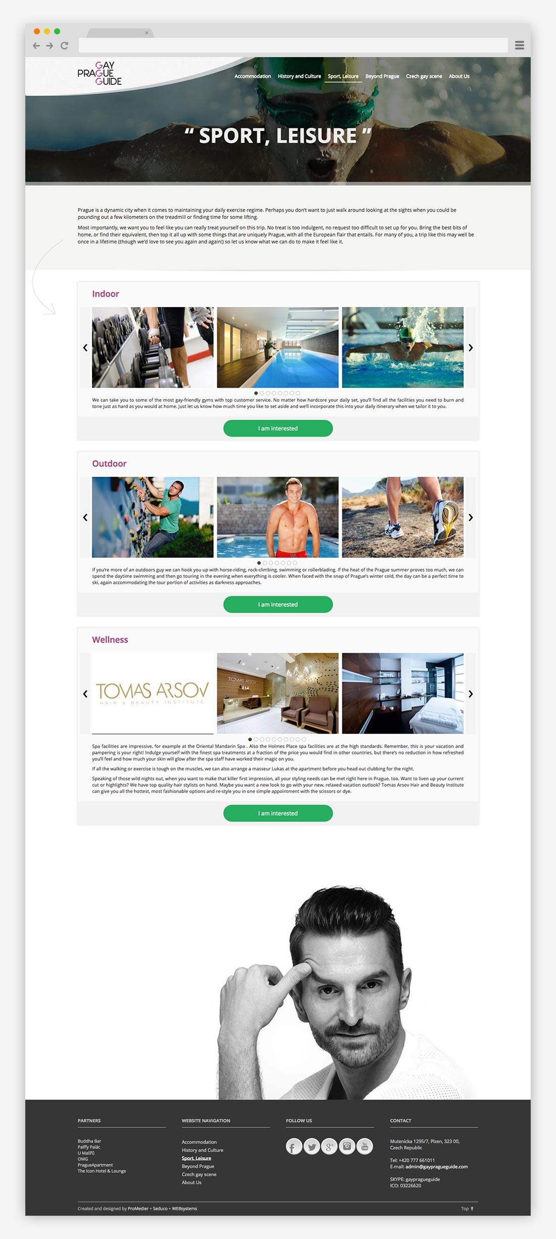 sport gpg - webdesign