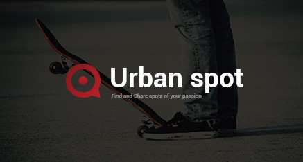 """Logo pre aplikáciu """"Urban spot"""""""