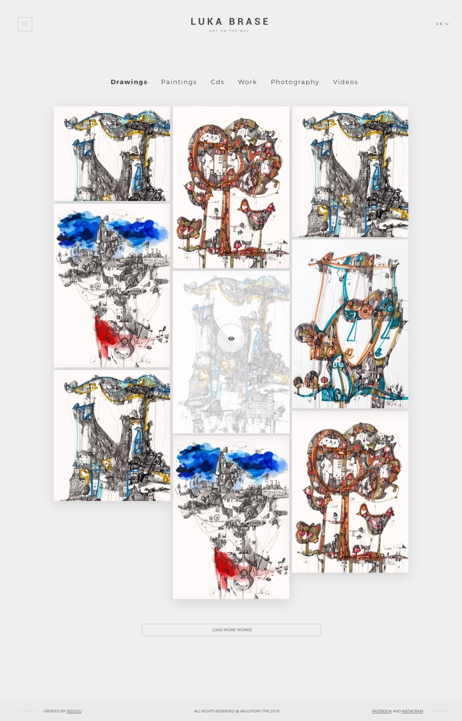 UX/UI design - Luka Brase - Portfolio