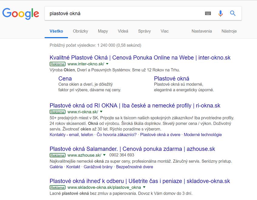google reklama ako zvýšiť návštevnosť stránky
