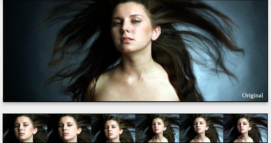 dievča2 - photoshop návod