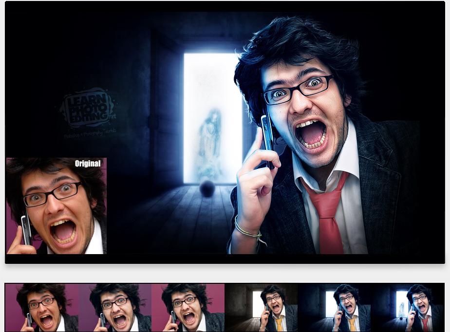 telefonista - photoshop návod